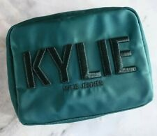 Kylie Cosmetics Holiday Emerald Green Makeup Bag | discontinued