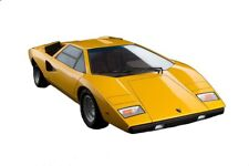 Lamborghini Countach LP400 1/12 Scale Die-Cast Yellow Ver. Vehicle Replica