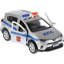 Diecast Metal Model Toyota RAV4 Russian Police Toy Die-cast Cars