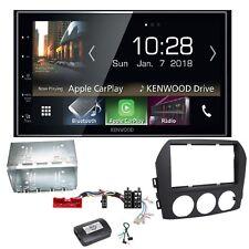 Kenwood DMX-7018DABS Android Auto CarPlay Einbauset für Mazda MX-5 NC FL