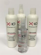 X-10 Hair Extension Care Kit For 100% Real Human, Virgin Remy & Synthetic Hair