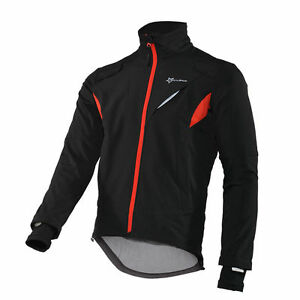 RockBros Cycling Winter Fleece Thermal Warm Jacket Windproof & Water-Resistant