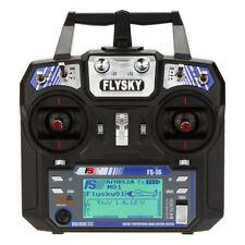 Flysky FS-i6 AFHDS 2A 2.4GHz 6CH Remote Control for Heli Glider +FS-iA6 Rec V0M4