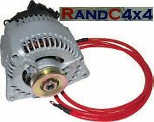 Da1195 LAND ROVER DEFENDER 200tdi aggiornato 100a ALTERNATORE OFF Road & VERRICELLO
