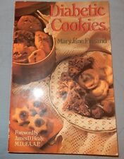 Diabetic Cookies by Mary J. Finsand 1994 pb Conversion Guides Sugar Replacements