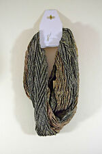 Collection Eighteen SCARF Multi-Color Glittery INFINITY LOOP $38