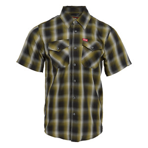 Dixxon Flannel Bamboo Short Sleeve The Foxtrot Mens Large L LIMITED Shirt