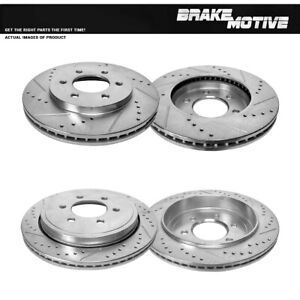 For 2002 2003 2004 2005 2006 FORD EXPEDITION LINCOLN NAVIGATOR Front+Rear Rotors