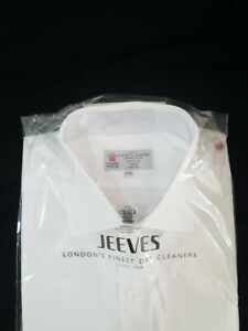 """TURNBULL & ASSER shirt, white c. 17.5"""" neck. Worn once, professionally cleaned"""