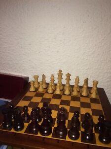 Ancien Jeu d'échecs américain - Vintage U.S.Chess Federation -American Chess set