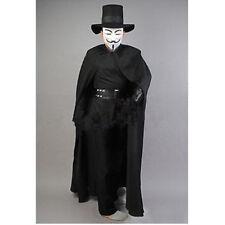V for Vendetta Hugo Weaving V Costume Cape Halloween Carnival Cosplay Costume;3