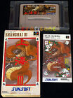 SHANGHAI III 3 Super Nintendo SNES Famicom Versione Giapponese NTSC ○○○ COMPLETO