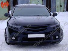 Front Grill Sport + Strap Honda Accord VIII 8 / Acura TSX CU2 2011, 2012, 2013