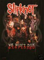 Slipknot We Won't Die Zombies Creepy Poster Commercial
