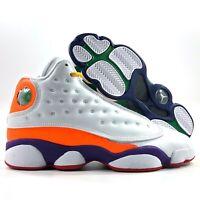 Nike Air Jordan 13 Retro GS KSA Playground White Black CV0785-158 4Y-5.5Y Youth