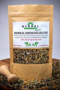 Herbal Smoking Blend /Herbs for Smoking/BLUE BLEND Damiana Calendula Mugwort