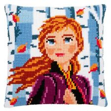 Vervaco Cross Stitch Cushion Kit: Disney - Frozen 2: Anna