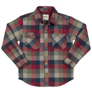 BNWT! Boys Soft Brushed Organic Cotton Shirt.