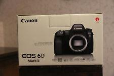 Canon EOS 6d Mark II DSLR 26.2mp come nuovo 2453 inneschi