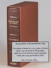 T. E. Lawrence - Seven Pillars of Wisdom, Castle Hill 1/4 goatskin, #53