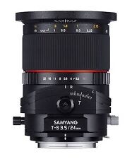 Samyang T-S 24mm f3.5 ED AS UMC objetivo - Canon COMPATIBLE
