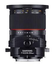 Samyang T-S 24mm f3.5 ED AS UMC Lens - Canon Fit