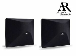Acoustic Research S40i-S Surround Speakers (Pair) (Satin Black) RRP$1499