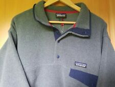 NWOT Patagonia Synchilla Lightweight Pullover Snap T Mens L Gray