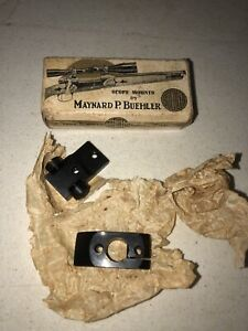 Buehler B-2 Blank Scope Mount Bases 2 Piece fits BSA AND OTHERS NEW
