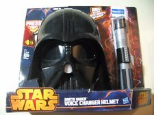 Star Wars: Darth Vader Voice Changer Helmet + Lightsaber (Brand New & Sealed)