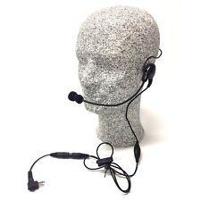 Behind-the-head Lightweight Headset for Motorola 2-pin radios (5LWBHP-M1)