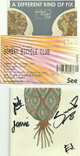 BOMBAY BICYCLE CLUB-LINCOLN 2011 TICKET+DIFFERENT KIND OF FIX CD-SIGNED