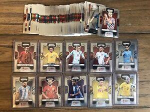 2018 Panini Prizm World Cup Base 76 Card Lot No Dupes - Pogba Vardy Marcelo