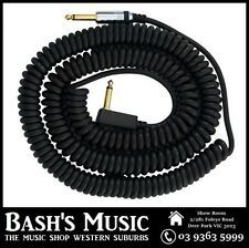 VOX VCC090 Black Coiled Guitar Cable 9 Metres with Bag