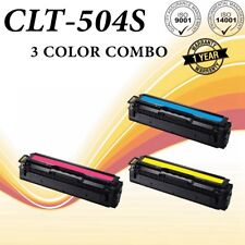 3PACK CLT-K504S Color Set for Samsung C1860FW C1810W CLP415NW CLX4195FW CLP475