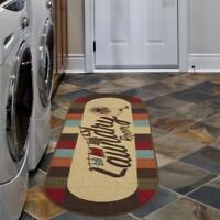 Laundry Rug Rubber Room Runner Non Slip Backing Area Rug 20 x 59 100% Nylon