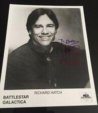 Battlestar Galactica Richard Hatch -Apollo hand signed autograph 8x10 photo