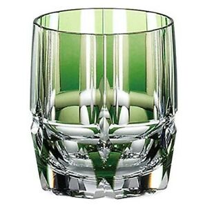 KAGAMI CRYSTAL Old Fashioned Glass Bamboo Stem Series From Japan with Tracking