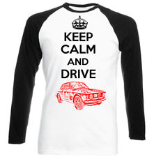ALFA GT JUNIOR 1969 KEEP CALM AND DRIVE- NEW AMAZING GRAPHIC TSHIRT S-M-L-XL-XXL