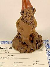 Newt 1984 Tom Clark Gnome Figurine Coa No Story Isaac Newton 11
