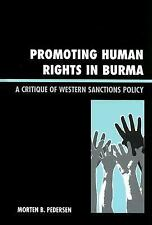 PROMOTING HUMAN RIGHTS IN BURMA - NEW LIBRARY BOOK
