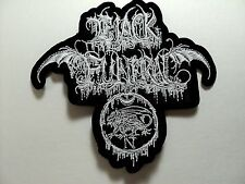 BLACK FUNERAL  EMBROIDERED PATCH
