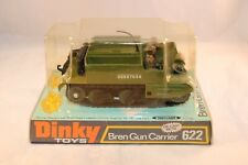 Dinky Toys 622 Bren Gun Carrier perfect mint in mint box OLD SHOP STOCK NEW