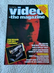 Video the Magazine June 1985 Clint Eastwood
