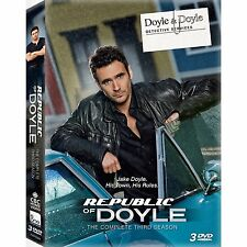 REPUBLIC OF DOYLE - THE COMPLETE THIRD SEASON 3 -  DVD - UK Compatible - sealed