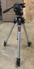 Bogen Manfrotto 3001 Tripod w/ 3126 Pan Head and Pan Handle