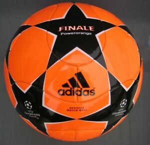 ADIDAS FINALE 8  POWERORANGE MATCH BALL MATCHBALL TEAMGEIST SHAPE RARE ITEM NEW