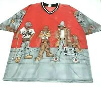 Vintage 90s Crooklyn Dodgers mens XL shirt hip hop rap vtg 2pac biggie gangsta