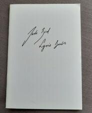 More details for jade bird lyric booklet from debut album     signed