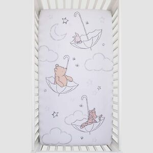"Disney Classic Pooh Baby Fitted Crib Sheet 52"" x 28"" SEE DETAILS"